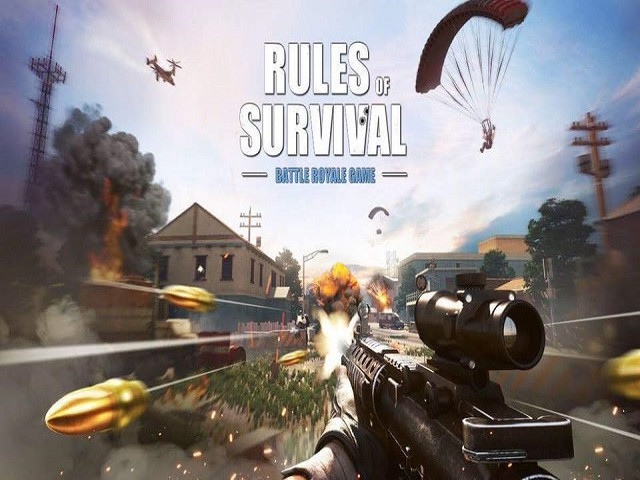 Cách tải game Rules Of Survival hay