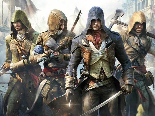 Chia sẻ link tai game offline mien phi hay nhat ve may tinh - Assassin's Creed: Unity