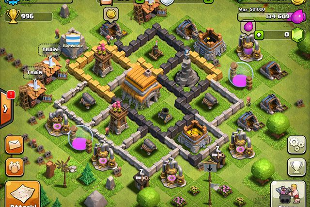 Clash of Clans - Game chiến thuật hay cho Android