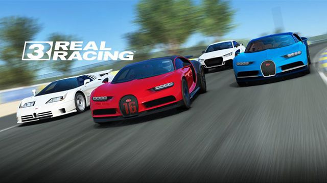 Game hay cho iPhone 4/4s - Real Racing 3
