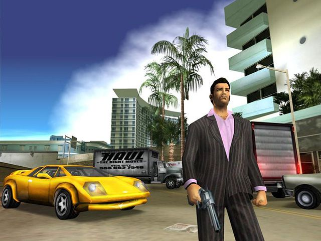 tai game offline hay nhat mien phi - Grand Theft Auto Vice City