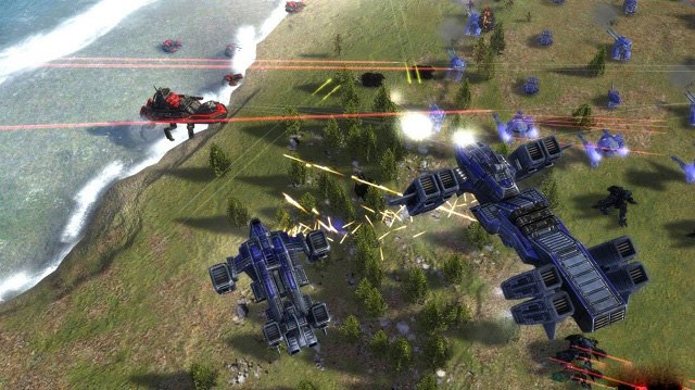 Supreme Commander lọt top top 10 game chien thuat hay nhat
