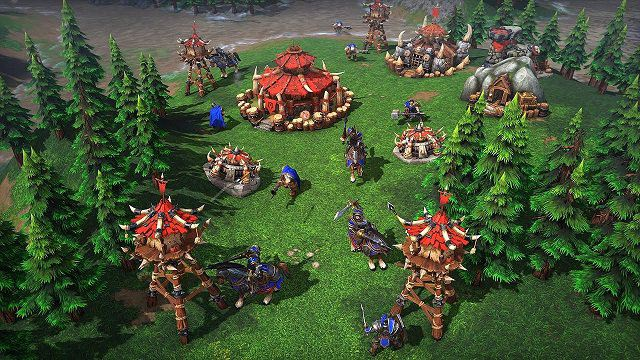 Warcraft III game chiên thuật hay - game chien thuat hay nhat the gioi